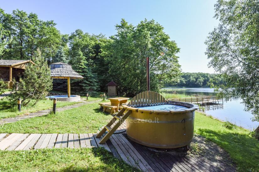 Vilnojos sodyba VIlniaus rajone ant ežero kranto su pirtimi, kubilu, džiakuzi - 10