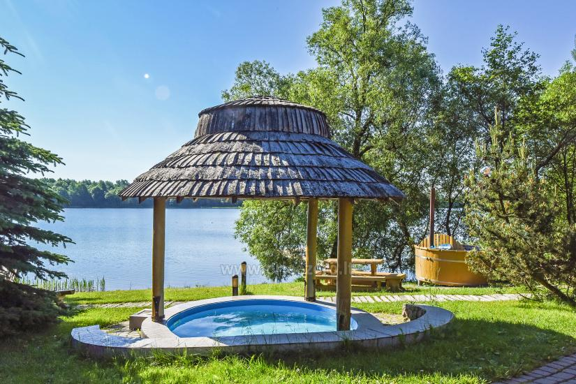 Vilnojos sodyba VIlniaus rajone ant ežero kranto su pirtimi, kubilu, džiakuzi - 6