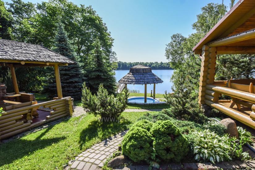 Vilnojos sodyba VIlniaus rajone ant ežero kranto su pirtimi, kubilu, džiakuzi - 11