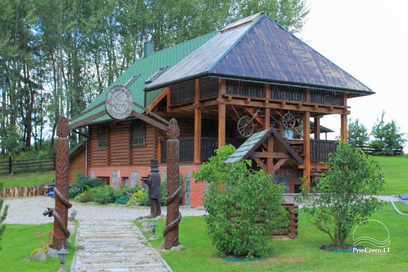 Sodyba Šilas Lenkijoje, Ožkinių km., Seinu apskrityje, Palenkės vaivadijoje - 1