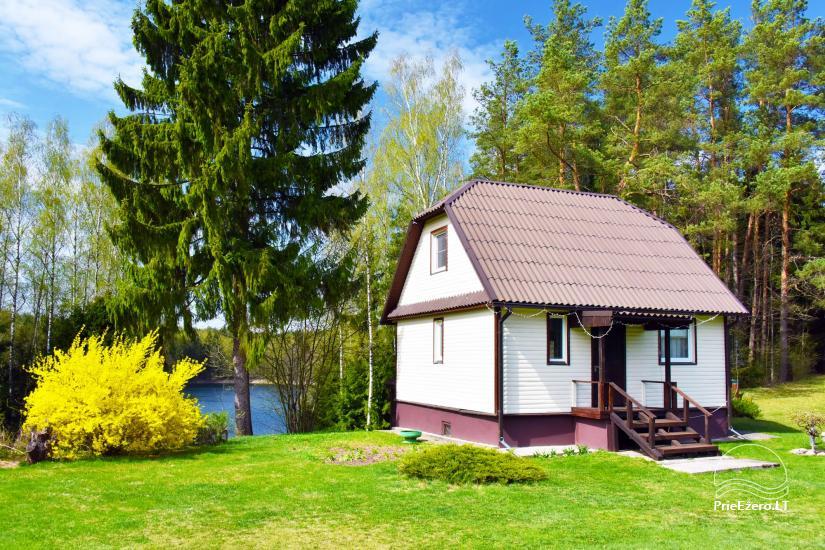 6-vietis namelis 30 m nuo ežero