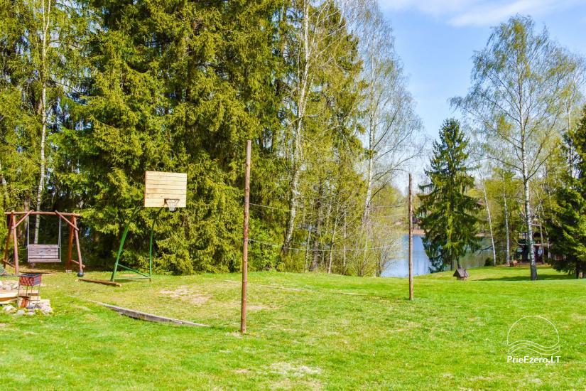 Bronės Nijolės Urbonienės sodyba ant Plavio ežero kranto, – poilsio namelis, pirtis - 31
