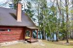 10-ties vietų namelis ant ežero kranto