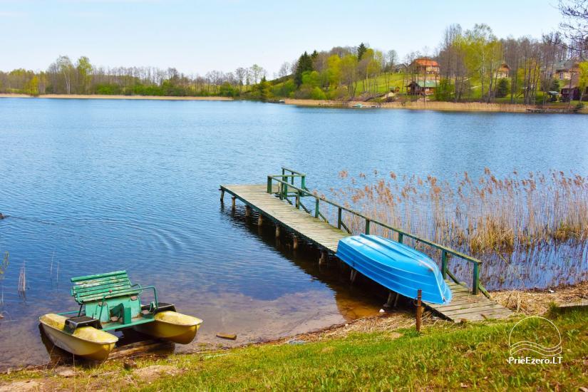 Bronės Nijolės Urbonienės sodyba ant Plavio ežero kranto, – poilsio namelis, pirtis - 32