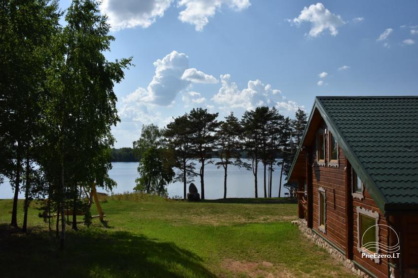 """Naujos statybos sodyba """"Vencavas"""" prie ežero kranto su pirtimi - 4"""