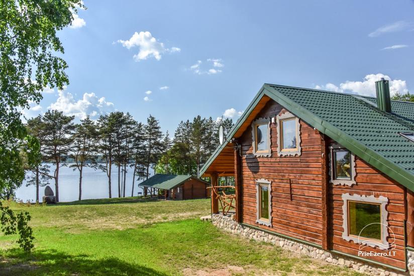 """Naujos statybos sodyba """"Vencavas"""" prie ežero kranto su pirtimi - 1"""