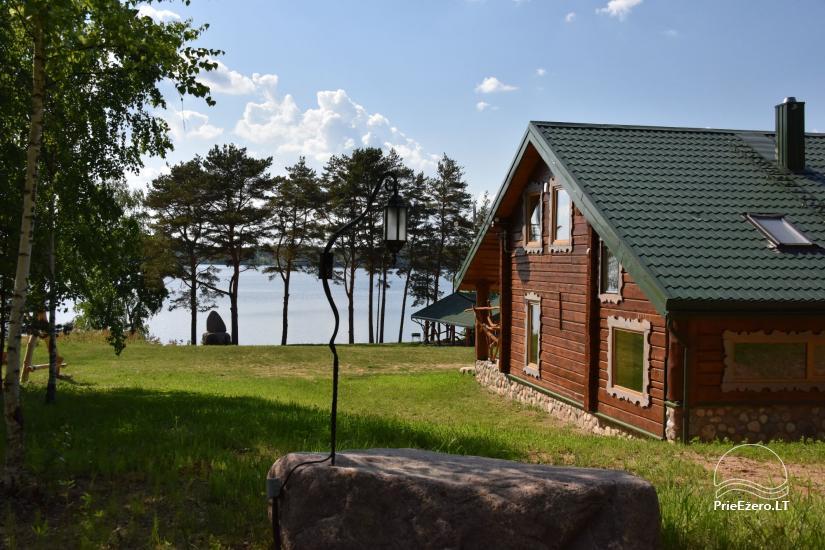 """Naujos statybos sodyba """"Vencavas"""" prie ežero kranto su pirtimi - 5"""