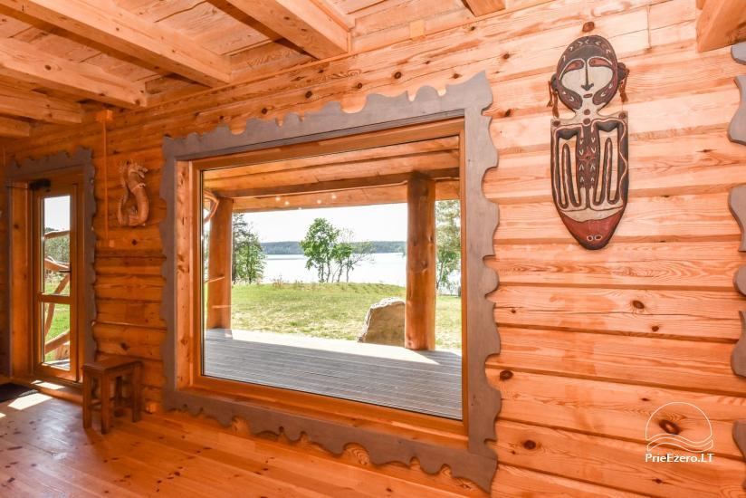"""Naujos statybos sodyba """"Vencavas"""" prie ežero kranto su pirtimi - 11"""