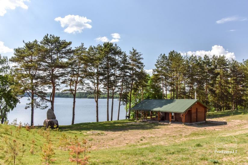 """Naujos statybos sodyba """"Vencavas"""" prie ežero kranto su pirtimi - 32"""