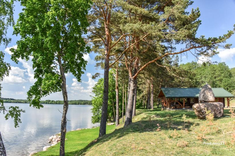 """Naujos statybos sodyba """"Vencavas"""" prie ežero kranto su pirtimi - 34"""