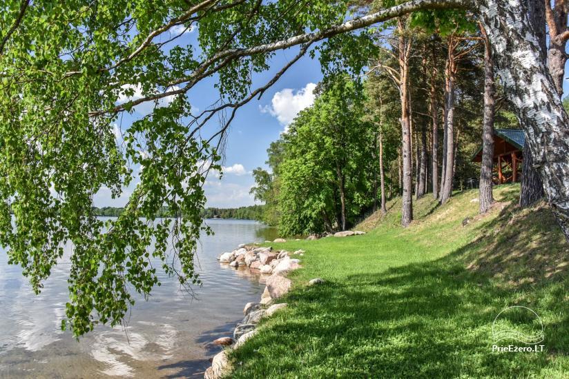 """Naujos statybos sodyba """"Vencavas"""" prie ežero kranto su pirtimi - 43"""