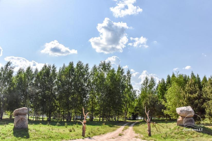 """Naujos statybos sodyba """"Vencavas"""" prie ežero kranto su pirtimi - 44"""