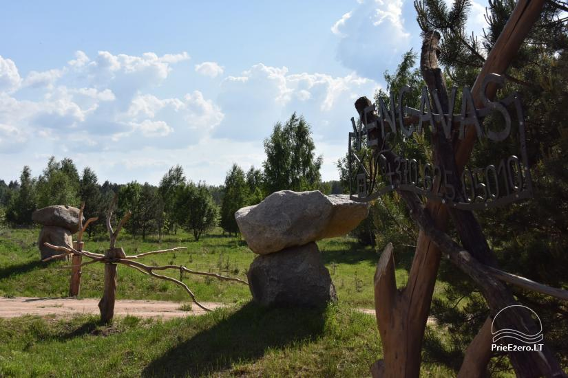 """Naujos statybos sodyba """"Vencavas"""" prie ežero kranto su pirtimi - 46"""