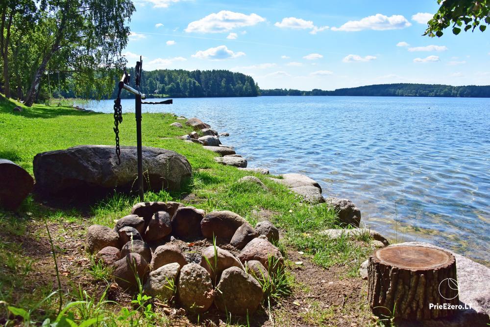 """Naujos statybos sodyba """"Vencavas"""" prie ežero kranto su pirtimi - 3"""