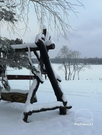 """Naujos statybos sodyba """"Vencavas"""" prie ežero kranto su pirtimi - 48"""