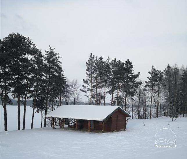 """Naujos statybos sodyba """"Vencavas"""" prie ežero kranto su pirtimi - 49"""