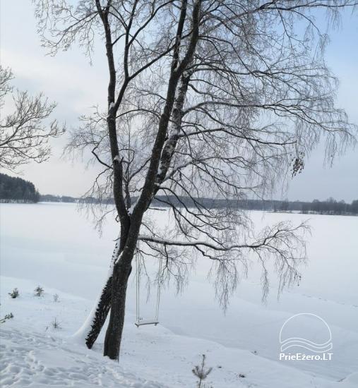 """Naujos statybos sodyba """"Vencavas"""" prie ežero kranto su pirtimi - 50"""