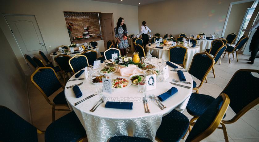 Salė vestuvėms ir kitoms šventėms