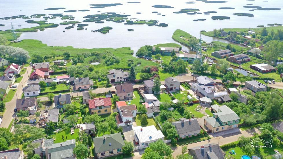 Namų-vilų nuoma prie Liepojos ežero ir netoli jūros Baltā māja - 9