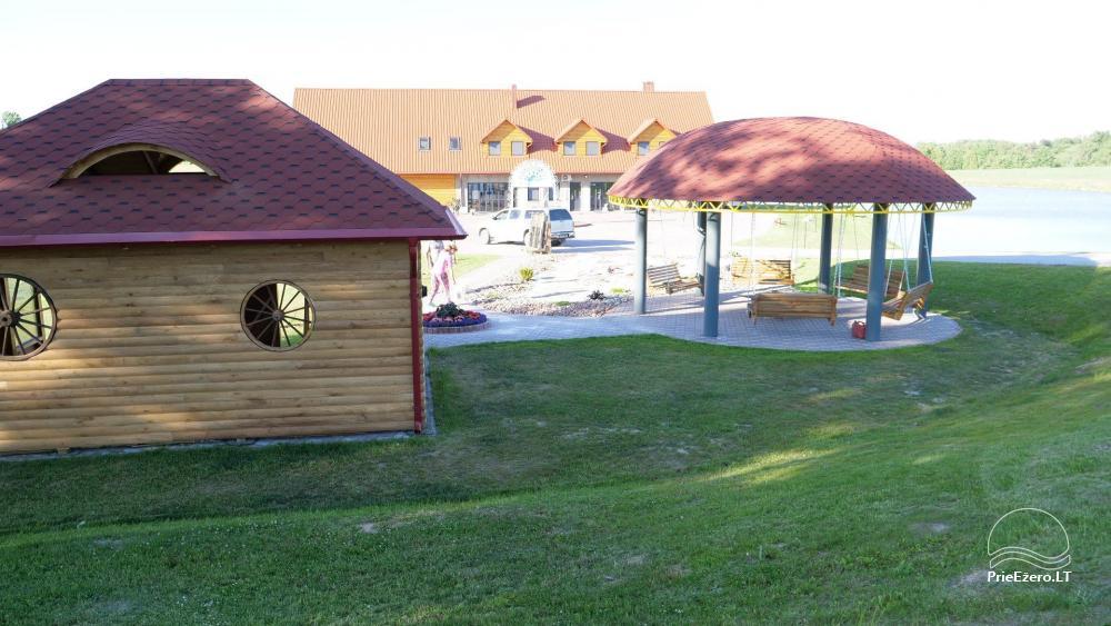 Sodyba Mėlynoji banga Šilalės rajone: salė, pirtis, miegamieji, pramogos gamtoje - 36