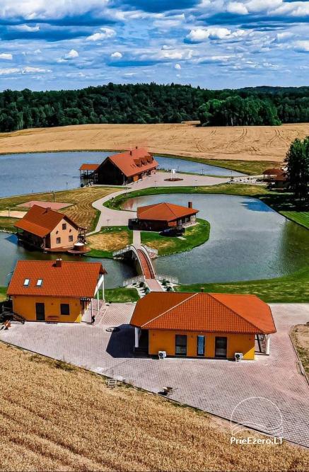 Sodyba Mėlynoji banga Šilalės rajone: salė, pirtis, miegamieji, pramogos gamtoje - 2