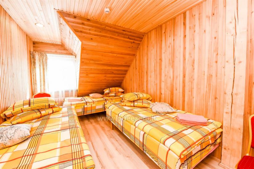 Miegamieji pagrindiniame name