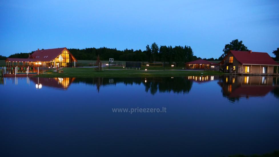 Sodyba Mėlynoji banga Šilalės rajone: salė, pirtis, miegamieji, pramogos gamtoje - 10