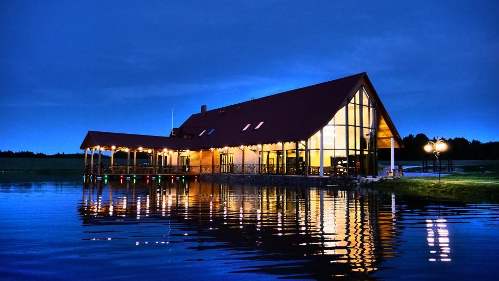 Sodyba Mėlynoji banga Šilalės rajone: salė, pirtis, miegamieji, pramogos gamtoje - 11