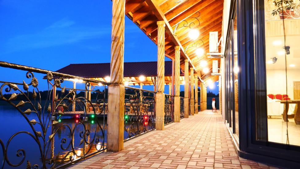 Sodyba Mėlynoji banga Šilalės rajone: salė, pirtis, miegamieji, pramogos gamtoje - 19