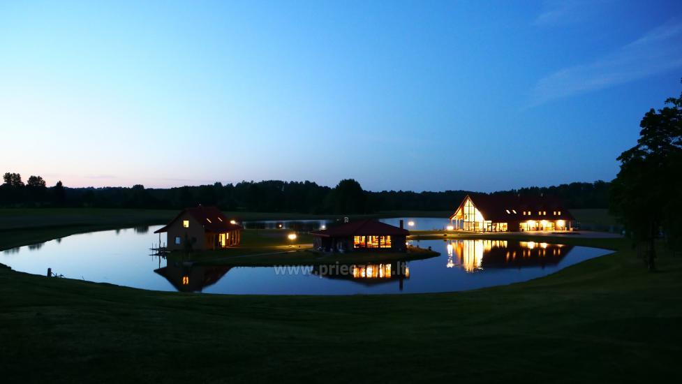 Sodyba Mėlynoji banga Šilalės rajone: salė, pirtis, miegamieji, pramogos gamtoje - 4