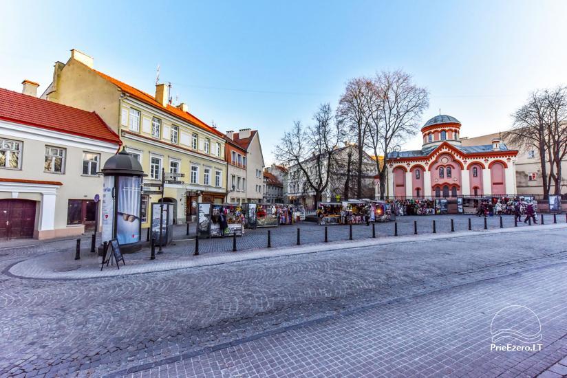 """3 kambarių buto nuoma Vilniuje, prestižinėje Pilies gatvėje """"Castle Street Apartment"""" - 22"""