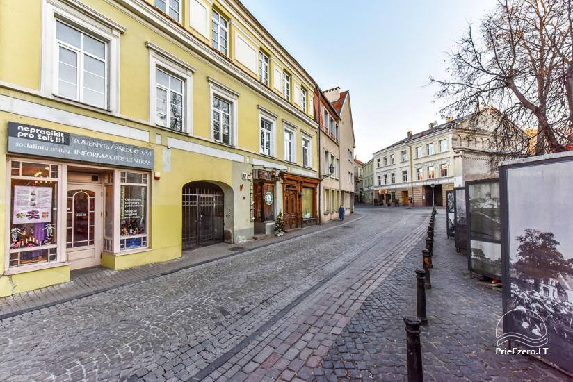 """3 kambarių buto nuoma Vilniuje, prestižinėje Pilies gatvėje """"Castle Street Apartment"""" - 23"""