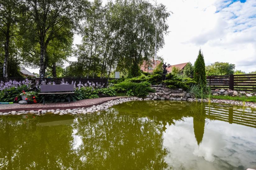Sodyba su sale, pirtimi šalia Klaipėdos šventėms ir poilsiui - 3