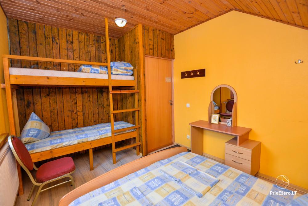 Sodyba Onupis Kauno rajone - šeimos poilsiui, pirtelė, kubilas. Pokylių salė - 26