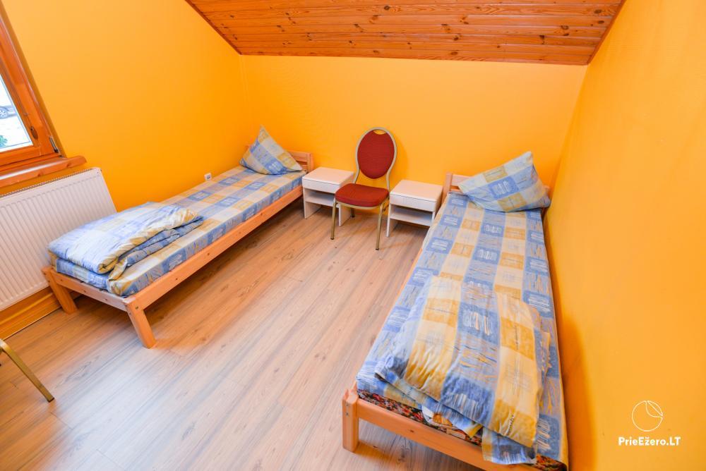 Sodyba Onupis Kauno rajone - šeimos poilsiui, pirtelė, kubilas. Pokylių salė - 25
