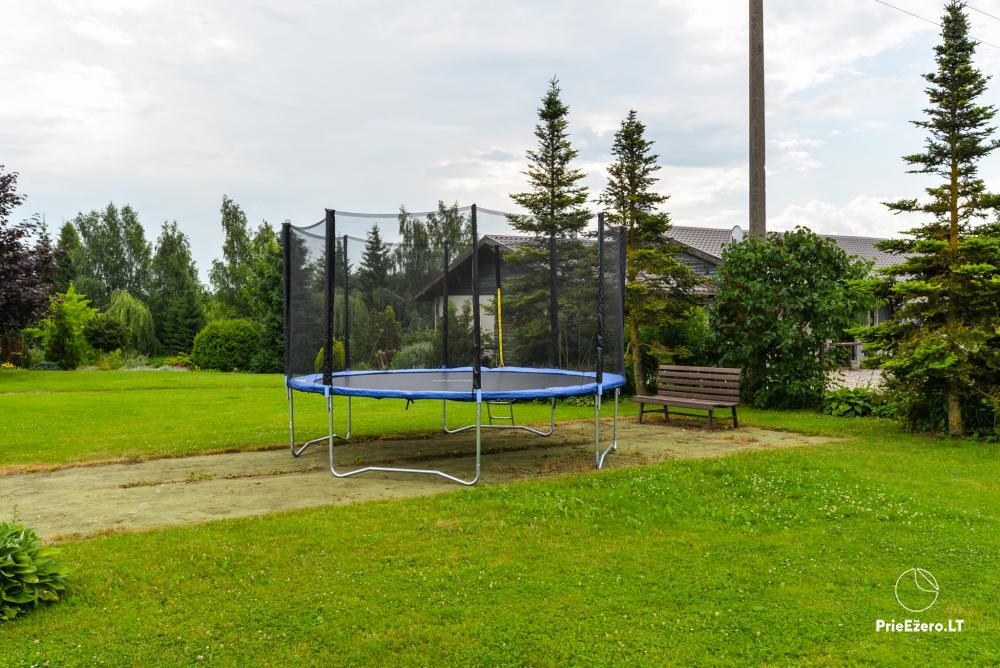 Sodyba Onupis Kauno rajone - šeimos poilsiui, pirtelė, kubilas. Pokylių salė - 9