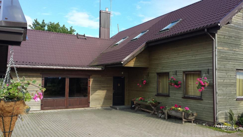Sodyba Onupis Kauno rajone - pokylių salė, pirtelė, kubilas. - 3