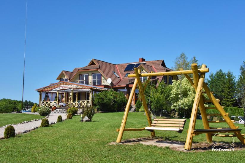 Sodyba  Vila-RA  MOLĖTŲ rajone prie Galuonų ežero - 9
