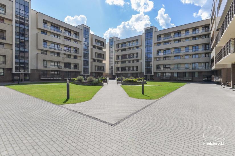 Druskininkų centre išnuomojami nauji 1 ir 2 kambarių apartamentai - 5