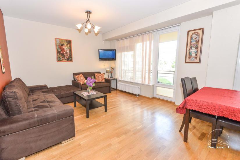 Druskininkų centre išnuomojami nauji 1 ir 2 kambarių apartamentai - 10