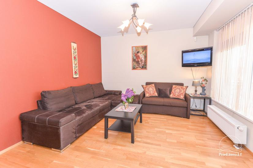 Druskininkų centre išnuomojami nauji 1 ir 2 kambarių apartamentai - 11