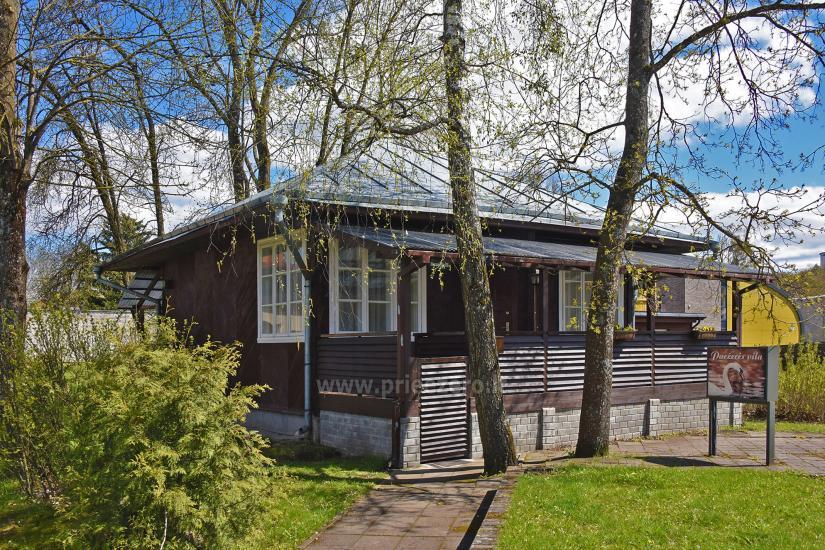 Paežerės vila Druskininkų centre prie Druskonio ežero - 1