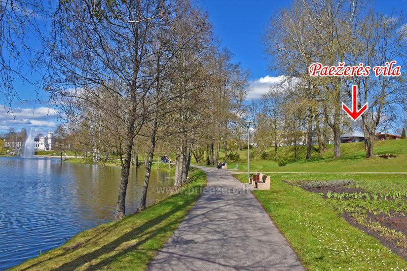 Paežerės vila Druskininkų centre prie Druskonio ežero - 13