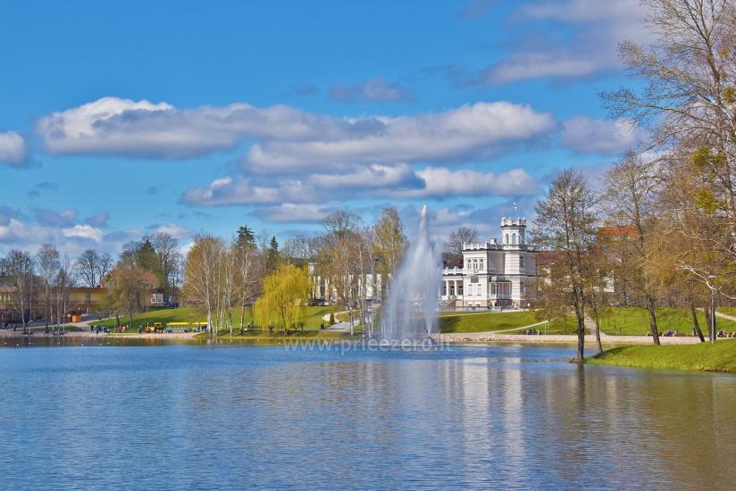 Paežerės vila Druskininkų centre prie Druskonio ežero - 17