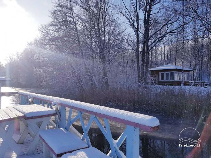 Žvejo namelis žvejybai arba Romantiškam poilsiui - 33