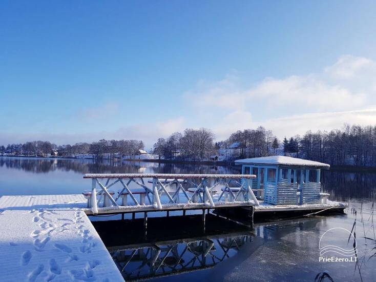 Žvejo namelis žvejybai arba Romantiškam poilsiui - 34