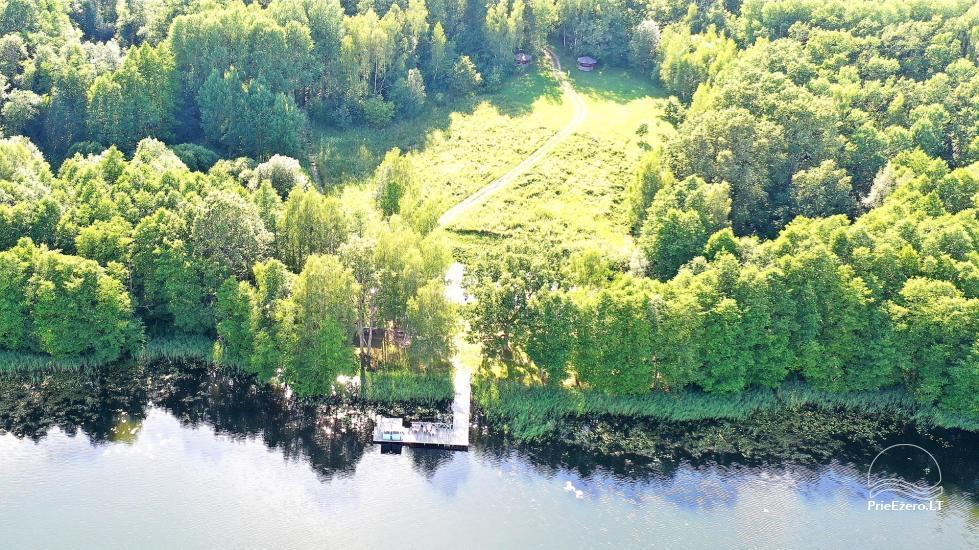 Žvejo namelis žvejybai arba Romantiškam poilsiui - 30