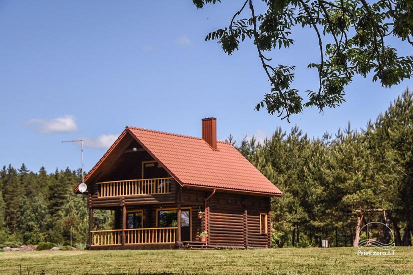 Sodyba Anykščių rajone prie Juostino ežero Villa Jūratė - 1