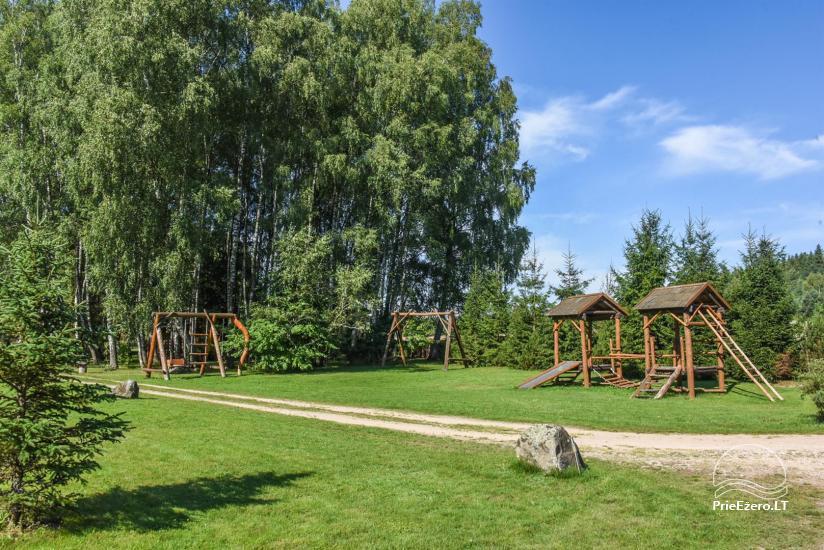 34 – Vaikų žaidimų aikštelė sodybos teritorijoje