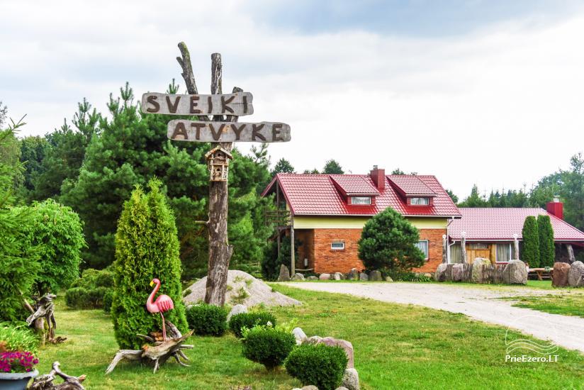 Sodybos, pirties, švenčių salės nuoma 10km nuo Klaipėdos, šaliaMiniZoo,Jonušai - 1